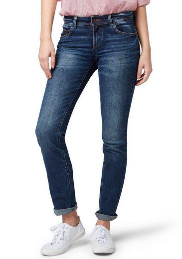 "TOM TAILOR Straight-Jeans in gerader ""Straight"" 5-Pocket-Form"