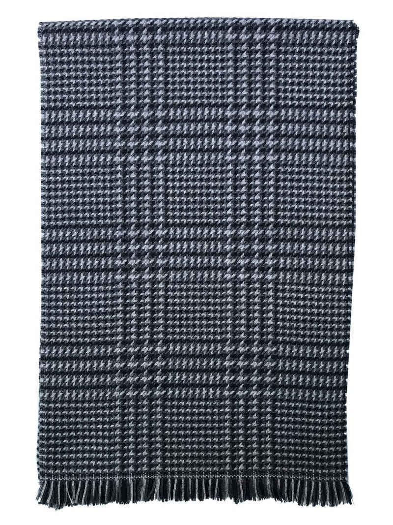 East Club London Wollschal, mit elegantem Karo-Muster