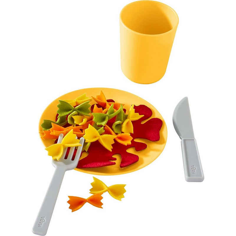 Haba Spiellebensmittel »HABA 305723 Mittagessen-Set Nudelpfanne«