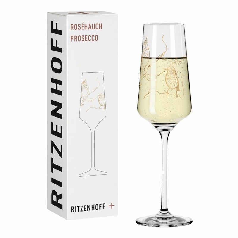 Ritzenhoff Sektglas »Roséhauch Prosecco 001«, Kristallglas, Made in Germany