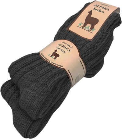 normani Thermosocken »2 Paar Alpaka-Socken« (2 Paar) hochwertige Alpaka-Wolle