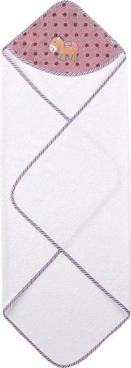 Sterntaler® Kapuzenhandtuch »Pauline« (1-St), aus weichem Frottee