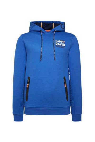 CAMP DAVID Kapuzensweatshirt mit Taschen