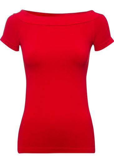 United Colors of Benetton Carmenshirt mit femininen Carmen-Ausschnitt