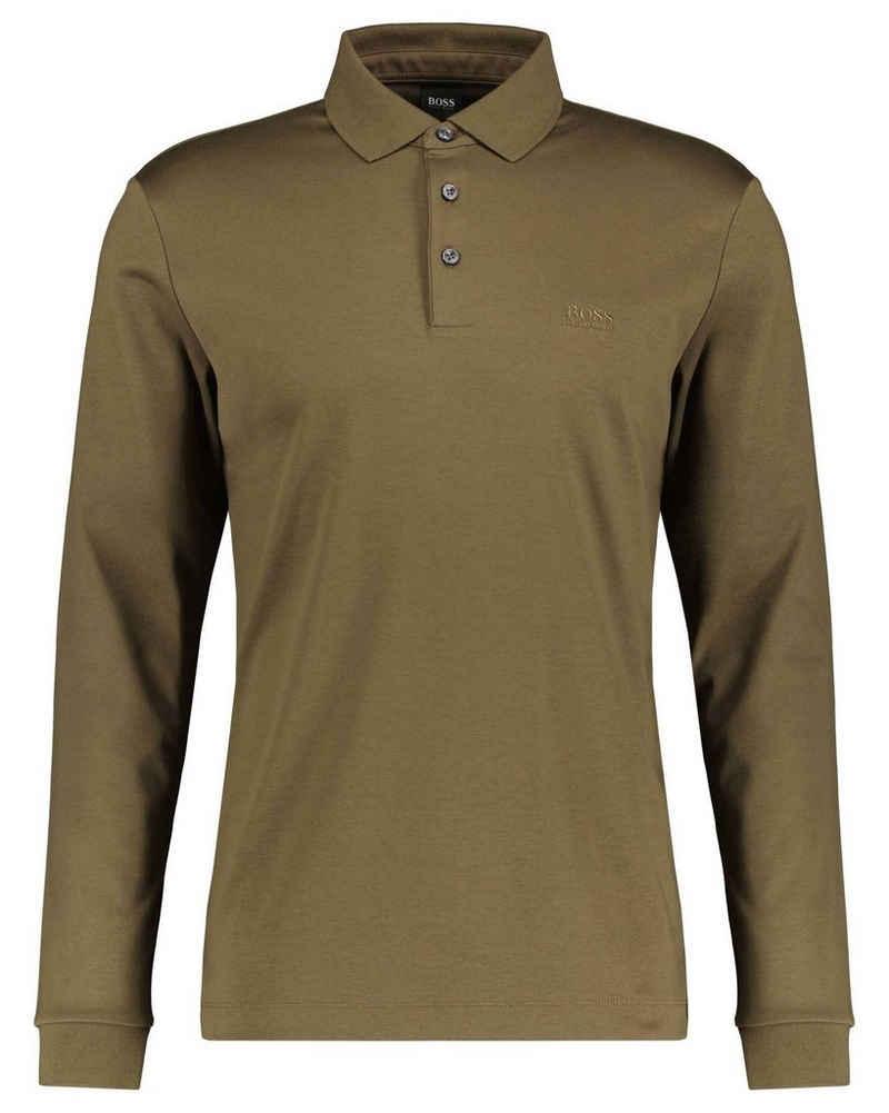 Boss T-Shirt »Herren Poloshirt PADO 11 Langarm«