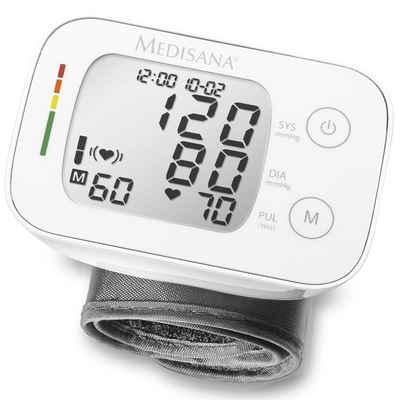 Medisana Blutdruckmessgerät Medisana Handgelenk-Blutdruckmessgerät BW 335 Weiß