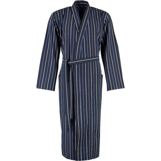 Herrenbademantel »Linio Kimono Glattstoff«, bugatti, Reisemantel