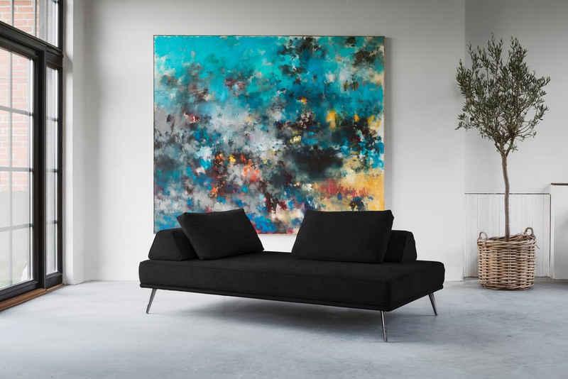 furninova Recamiere »Alexa Daybed«, Daybed inklusive 2 Rückenkissen, 2 Stützkissen und 1 Armlehnkissen, im skandinavischen Design