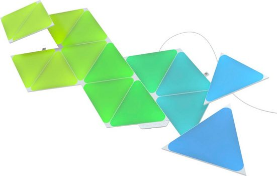 nanoleaf LED Panel »Nanoleaf Shapes Triangles Starter Kit - 15PK«
