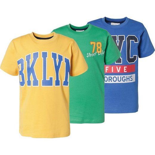 MyToys-COLLECTION T-Shirt »T-Shirts 3er Pack für Jungen von ZAB kids«
