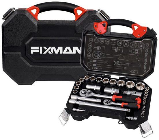 FIXMAN Steckschlüsselsatz 32-teilig