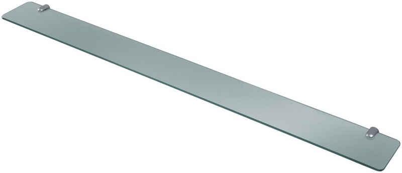 welltime Regal »Glasregal«, Glasablage in 3 verschiedenen Breiten 60 cm, 80 cm & 100 cm