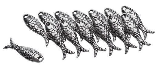 Rayher Anhänger Set »Fische«, 14 Stück
