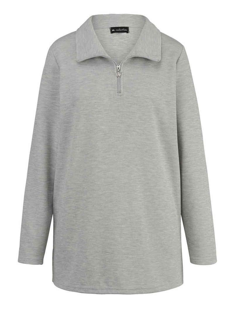 m. collection Sweatshirt in angesagter Basic-Form