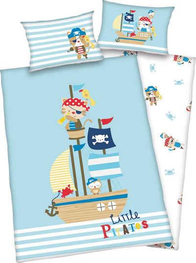 Babybettwäsche »Little Pirate«, Baby Best, mit niedlichem Motiv