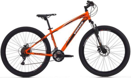 Cinzia Mountainbike »VIRUS«, 21 Gang Shimano TY300 Schaltwerk, Kettenschaltung