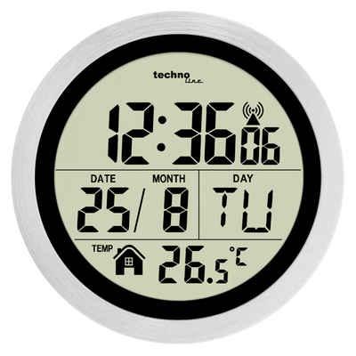 technoline Badezimmeruhr »WT 3005« (mit Saugnäpfen zur einfachen Montage)