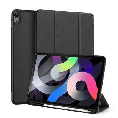 """Dux Ducis Tablet-Hülle »Dux Ducis Buch Tasche Hartschale mit Smart Sleep Standfunktion kompatibel mit APPLE IPAD AIR 4 10.9"""" 2020 Tablet Hülle Etui Brieftasche Schutzhülle Blau«"""