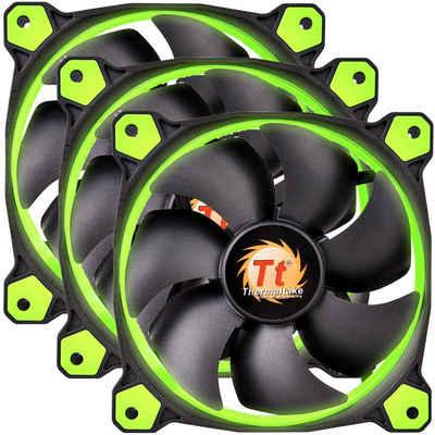 Thermaltake Gehäuselüfter »Riing 12 LED Green 3-Fan Pack«