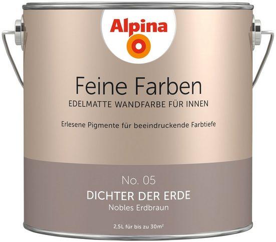 ALPINA Farbe »Alpina Feine Farben Dichter der Erde«, 2,5 l
