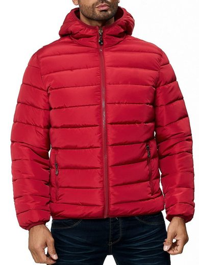 Max Men Winterjacke »2956« Herren Jacke Windbreaker Steppjacke Wattiert Outdoor