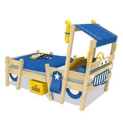 Wickey Kinderbett »Hausbett Crazy Sparky Pro, Plane Holzbett 90 x 200 cm«