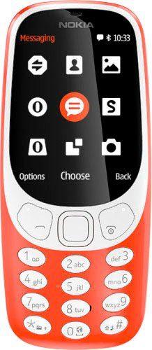 Nokia 3310 Handy (6,1 cm/2,4 Zoll, 16 GB Speicherplatz, 2 MP Kamera)