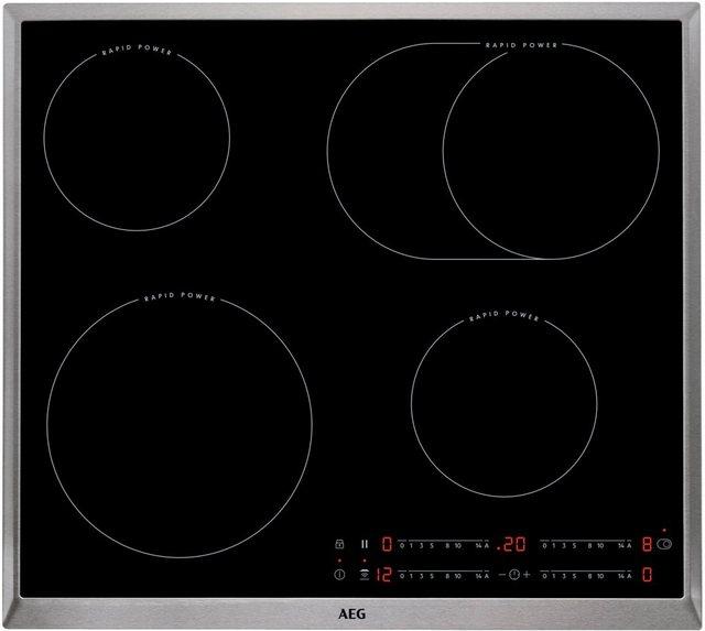AEG Elektro-Kochfeld HK654850XB, mit Hob Hood Funktion