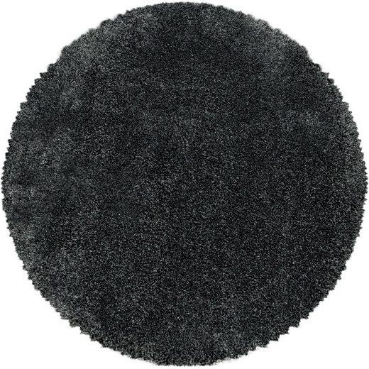 Hochflor-Teppich »FLUFFY 3500«, Ayyildiz, rund, Höhe 50 mm