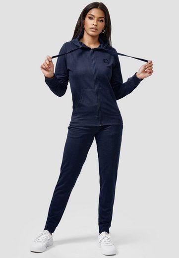 enflame Trainingsanzug »3715« (2-tlg), Damen Jogginganzug Training Set Sweat Hoodie & Pants Sportanzug Big Size