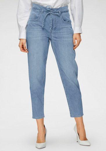 MAC Ankle-Jeans »Mina« Mit separatem Jeans-Bindeband