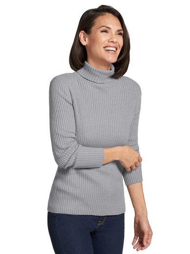 Casual Looks Pullover mit Rollkragen