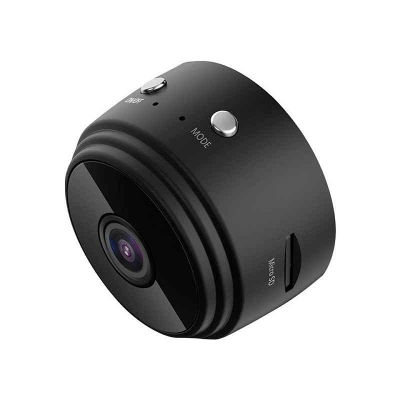 Favson »WiFi Mini Kamera Ultrakompakte Netzwerk Kamera Wireless ip Kamera 1080P mit Bewegungserkennung Nachtsicht kameras, Nanny Baby Pet Cam für iPhone/Android Telefon/iPad« Überwachungskamera
