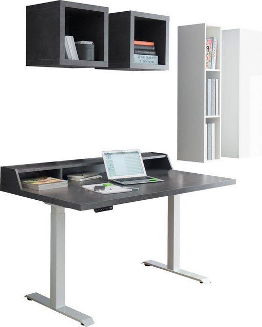 Büromöbel Sets - Büro Set »Big System Office«, (6 St), Schreibtisch höhenverstellbar  - Onlineshop OTTO