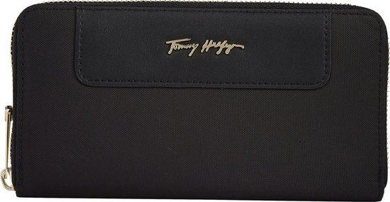 Tommy Hilfiger Geldbörse »TOMMY FRESH LARGE ZA«, mit goldfarbenen Details