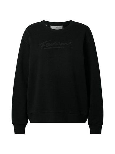 SELECTED FEMME Sweatshirt »SLFARTISTA-CAMILLE« (1-tlg)