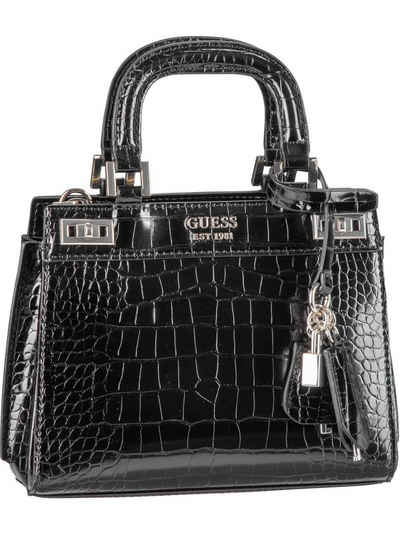 Guess Handtasche »Katey Mini Satchel Croco«, Henkeltasche