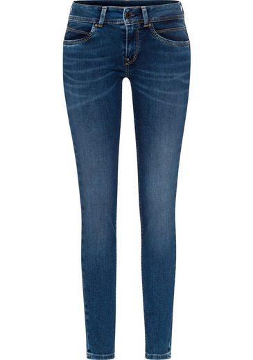Pepe Jeans Slim-fit-Jeans »NEWBROOKE« mit Reißverschluss-Tasche