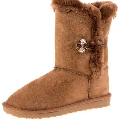 AvaMia »Damen Winter Schuhe Boots Damenstiefel Winterstiefel Fellstiefel warm Fell« Winterstiefel