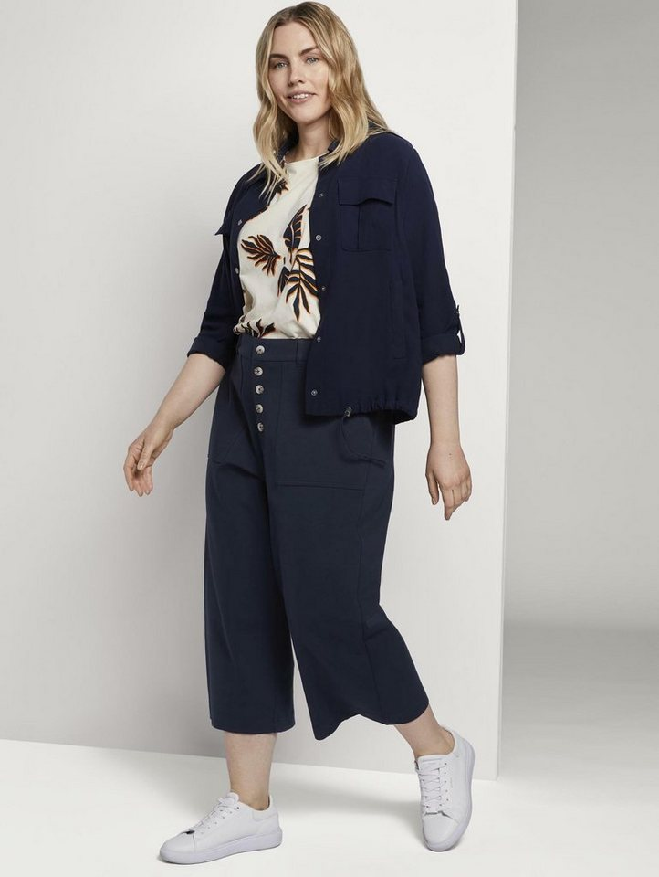 tom tailor my true me -  Chinohose »Culotte im Utility-Look«