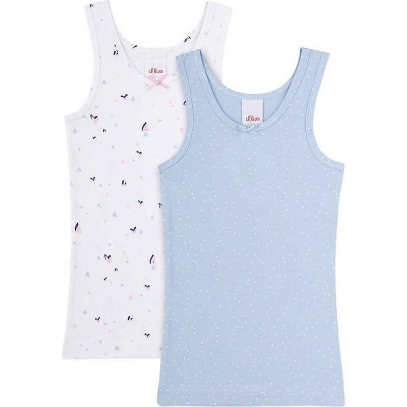 Sanetta Unterhemd »Unterhemden Doppelpack für Mädchen«