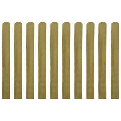 vidaXL Zaun »vidaXL Zaunlatten 30 Stk. Imprägniertes Holz 100 cm«