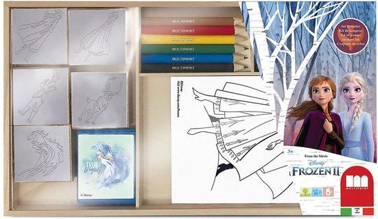 Disney Frozen Malvorlage »Frozen 2 Malset XL in Holzschachtel«