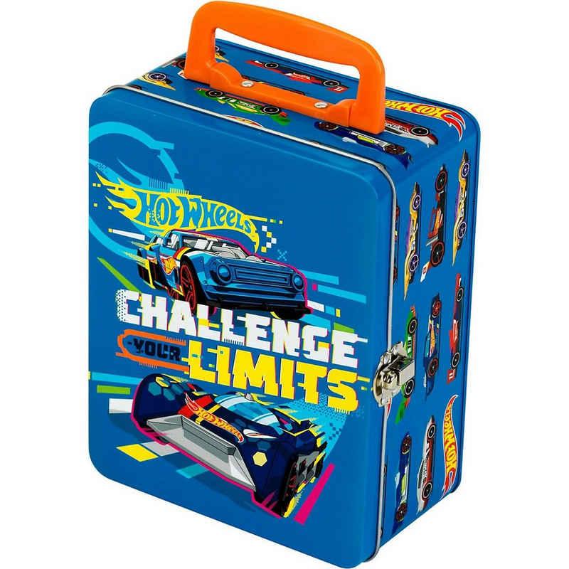 Klein Spielzeug-Auto »Hot Wheels Autosammlerkoffer aus Metall, für 18«
