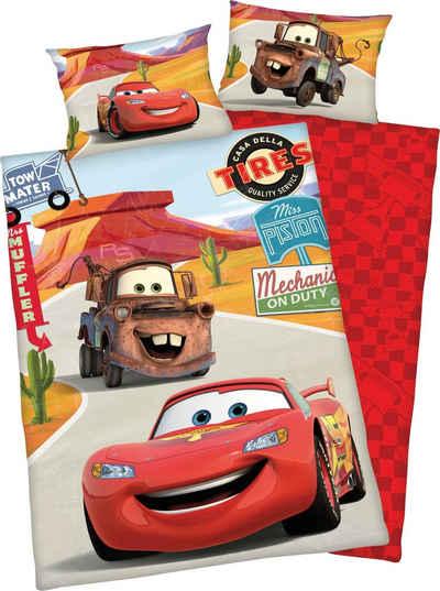 Babybettwäsche »Disney´s Cars«, Walt Disney, mit niedlichem Motiv
