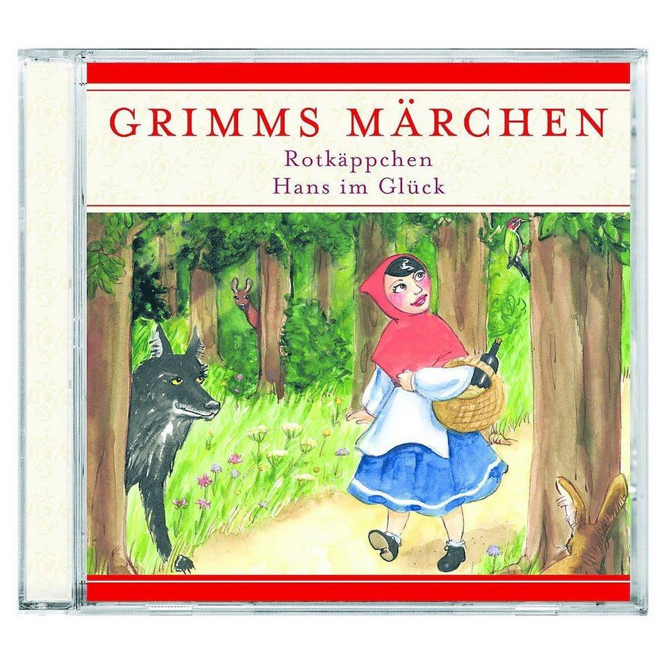 kiddinx hörspiel »cd grimms märchen rotkäppchen  hans im