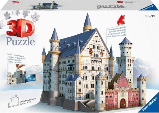 Ravensburger 3D-Puzzle »Schloss Neuschwanstein«, 216 Puzzleteile, Made in Europe, FSC® - schützt Wald - weltweit