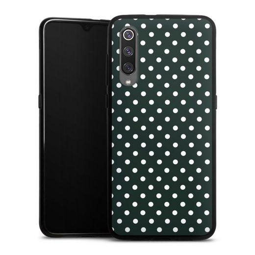 DeinDesign Handyhülle »Polka Dots - schwarz und weiß« Xiaomi Mi 9, Hülle Punkte Retro Polka Dots