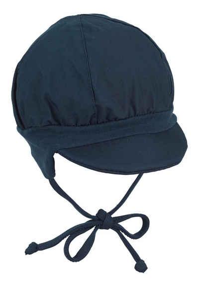 Sterntaler® Ballonmütze »Ballonmütze« (1-St) mit angeschnittenen Ohrenklappen und Bindeband
