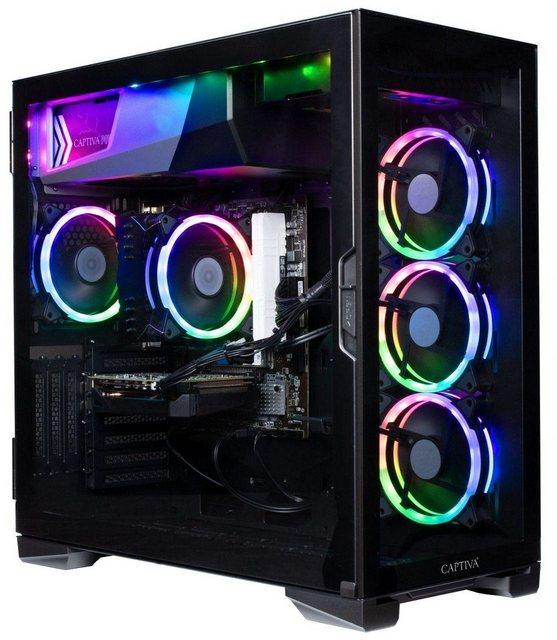 CAPTIVA Advanced Gaming I57-223 Gaming-PC Intel Core i5 10400, GTX 1660 SUPER, 16 GB RAM, 1000 GB SSD, Luftkühlung